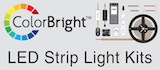 ColorBright LED strip light kits