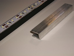 Strip Lights on Aluminum Channel