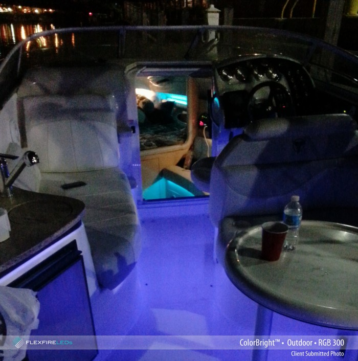 LED strip lights for boats