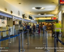 Flexfire LEDs UltraBright Strip Lights at California's Long Beach Airport