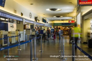 Flexfire LEDs Long Beach Airport Check-In