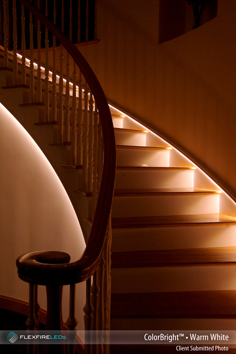 Led Strip Light Stairway Lighting