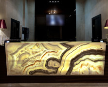 Granite, Marble, and Onyx Backlighting With LED Strip Lights