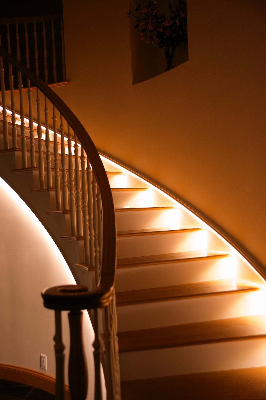 Led Staircase Lighting Flexfire Leds Blog
