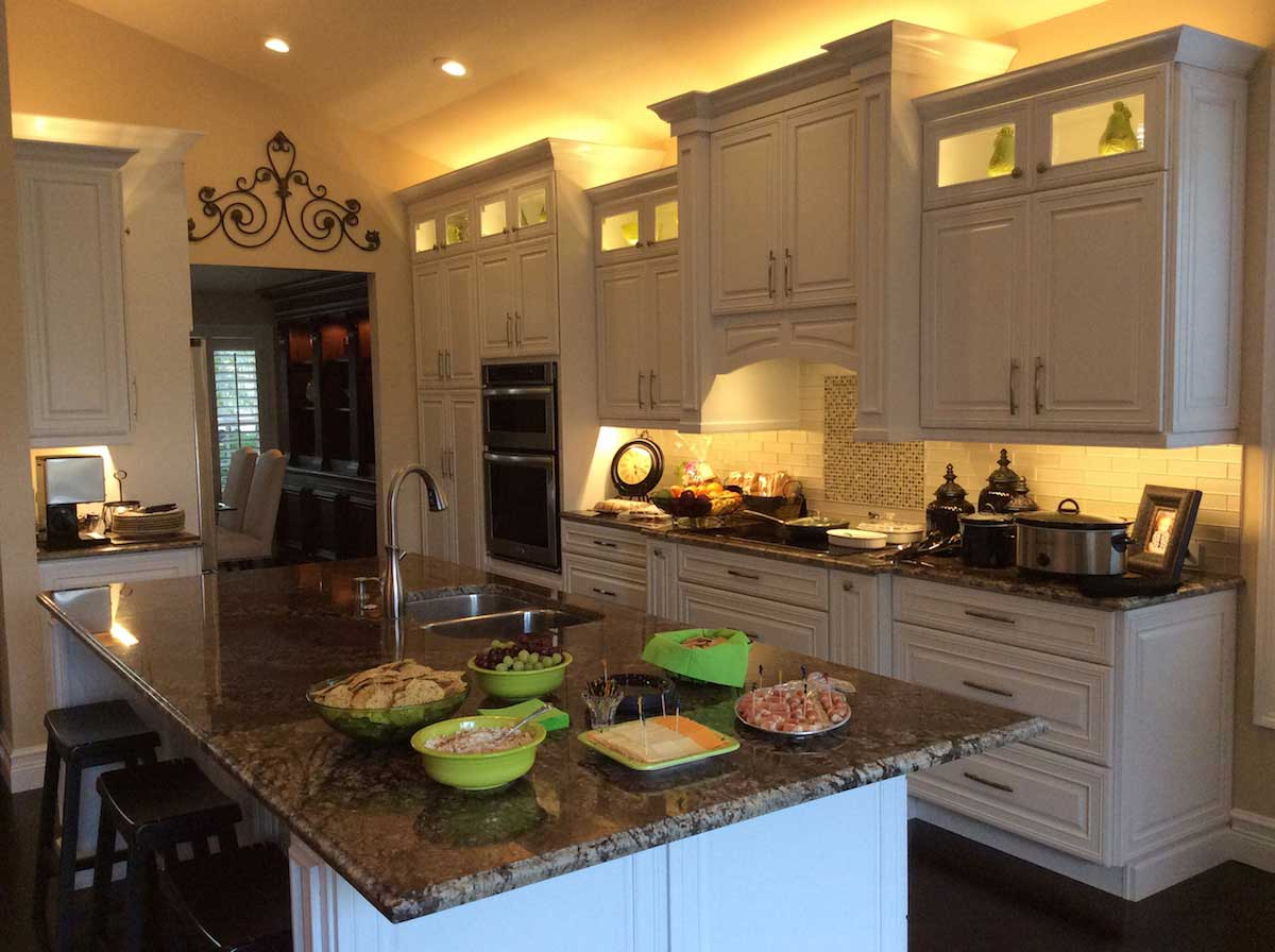 lights above kitchen cabinets visual light communication and customer engagement 7065